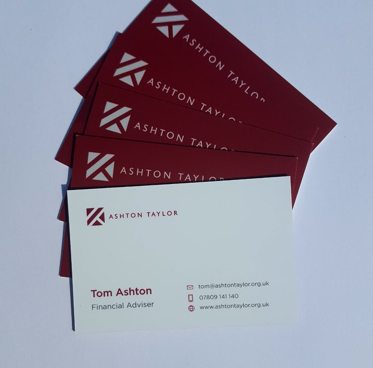 Ashton Taylor Business Cards